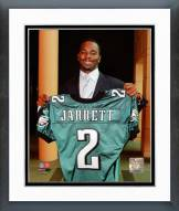 Philadelphia Eagles Jaiquawn Jarrett 2011 Press Conference Framed Photo