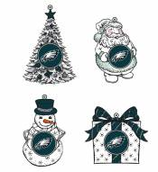 Philadelphia Eagles LED Christmas Tree Ornaments