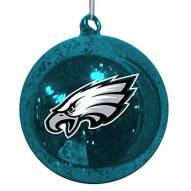 Philadelphia Eagles Mercury Glass Ornament
