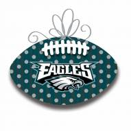 Philadelphia Eagles Metal Football Door Decor