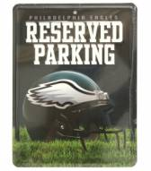 Philadelphia Eagles Metal Parking Sign