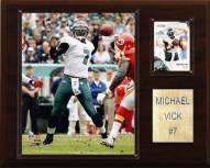 "Philadelphia Eagles Michael Vick 12 x 15"" Player Plaque"