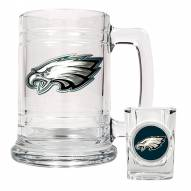 Philadelphia Eagles NFL Boilermaker Set - Shot Glass & Tankard Mug