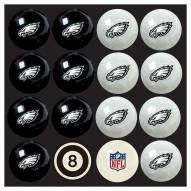 Philadelphia Eagles NFL Home vs. Away Pool Ball Set