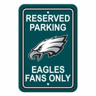 Philadelphia Eagles Parking Sign - Set of 2