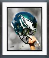 Philadelphia Eagles Philadelphia Eagles Helmet Spotlight Framed Photo
