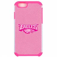 Philadelphia Eagles Pink Pebble Grain iPhone 6/6s Case