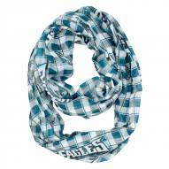 Philadelphia Eagles Plaid Sheer Infinity Scarf