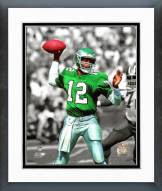 Philadelphia Eagles Randall Cunningham Spotlight Action Framed Photo