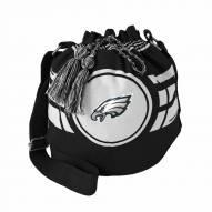 Philadelphia Eagles Ripple Drawstring Bucket Bag