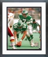 Philadelphia Eagles Ron Jaworski Behind Center Framed Photo