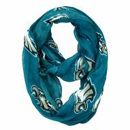 Philadelphia Eagles Sheer Infinity Scarf