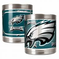 Philadelphia Eagles Stainless Steel Hi-Def Coozie Set