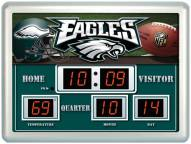 Philadelphia Eagles Thermometer Scoreboard Clock