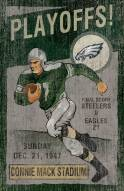 Philadelphia Eagles Vintage Wall Art