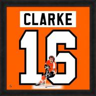 Philadelphia Flyers Bobby Clarke Uniframe Framed Jersey Photo