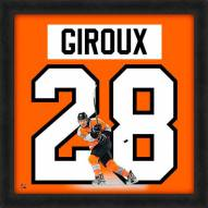 Philadelphia Flyers Claude Giroux Uniframe Framed Jersey Photo