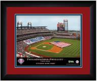 Philadelphia Phillies 13 x 16 Personalized Framed Stadium Print