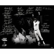 "Philadelphia Phillies 1980 World Series (22 Signatures) Signed 16"" x 20"" Photo"