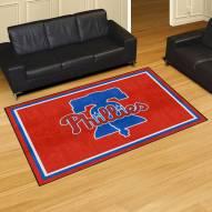 Philadelphia Phillies 5' x 8' Area Rug