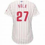 Philadelphia Phillies Aaron Nola Women's Replica Home Baseball Jersey