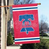 Philadelphia Phillies Appliqué 2-Sided Banner Flag