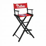 Philadelphia Phillies Bar Height Director's Chair