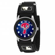 Philadelphia Phillies Black Rookie Kids Watch