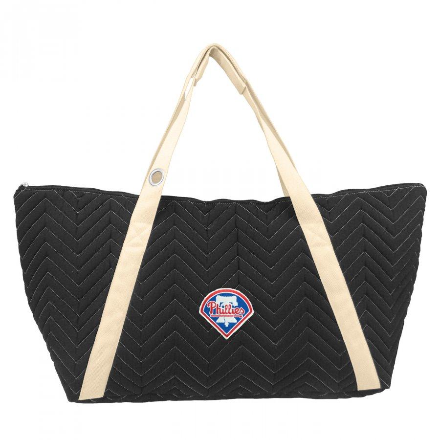 Philadelphia Phillies Chevron Stitch Weekender Bag