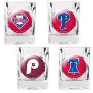 Philadelphia Phillies Collector's Shot Glass Set