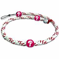 Philadelphia Phillies Frozen Rope Baseball Necklace