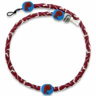 Philadelphia Phillies Frozen Rope Retro Baseball Necklace