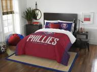 Philadelphia Phillies Grand Slam Full/Queen Comforter Set