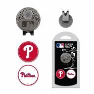 Philadelphia Phillies Hat Clip & Marker Set