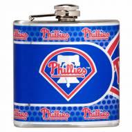 Philadelphia Phillies Hi-Def Stainless Steel Flask