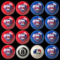 Philadelphia Phillies MLB Home vs. Away Pool Ball Set