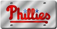Philadelphia Phillies Laser Cut License Plate