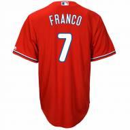 Philadelphia Phillies Maikel Franco Replica Scarlet Alternate Baseball Jersey