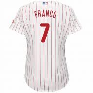Philadelphia Phillies Maikel Franco Women's Replica Home Baseball Jersey