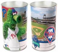 Philadelphia Phillies Metal Wastebasket