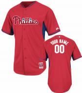 Philadelphia Phillies Personalized Authentic Batting Practice Baseball Jersey