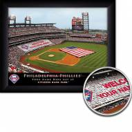 Philadelphia Phillies Personalized Framed Stadium Print