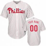 Philadelphia Phillies Personalized Replica Home Baseball Jersey