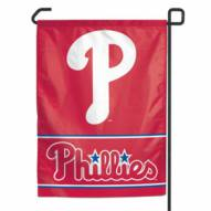 "Philadelphia Phillies Red 11"" x 15"" Garden Flag"