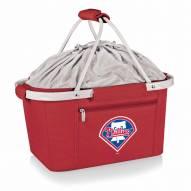 Philadelphia Phillies Red Metro Picnic Basket