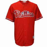 Philadelphia Phillies Replica Scarlet Alternate Baseball Jersey