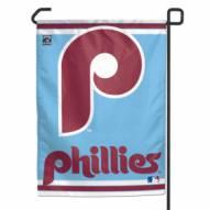 "Philadelphia Phillies Retro 11"" x 15"" Garden Flag"
