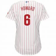 Philadelphia Phillies Ryan Howard Women's Replica Home Baseball Jersey