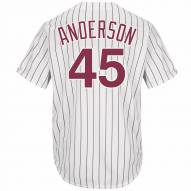 Philadelphia Phillies Sparky Anderson Cooperstown Replica Baseball Jersey