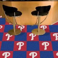 Philadelphia Phillies Team Carpet Tiles